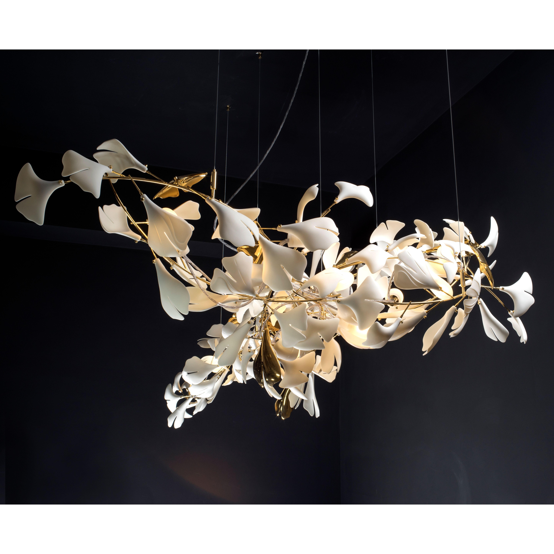 modern porcelain chandelier